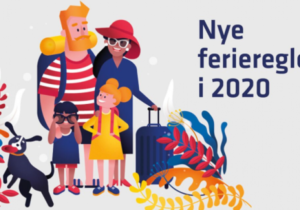 Nye ferieregler 1. september 2020